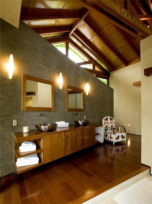 Spacious Spa Style Master Bath Suite