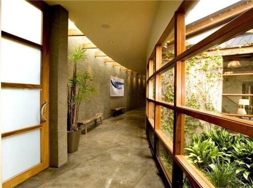 Lush Garden and Ocean View Entry