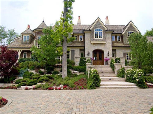 $10.9 Million Magnificent Mansion in New Buffalo, Michigan