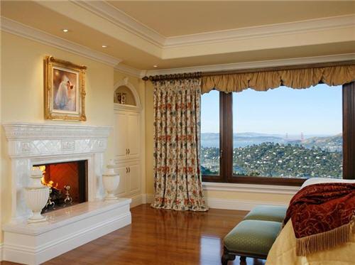 Bedroom Suite Fireplace