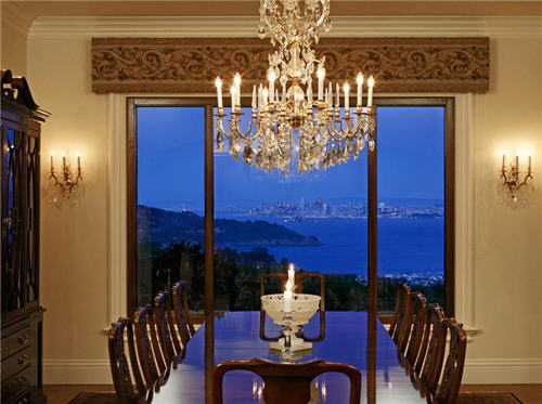 Dining Room with a view.