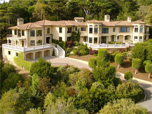 $11.5 Million Mediterranean Villa in Tiburon, California