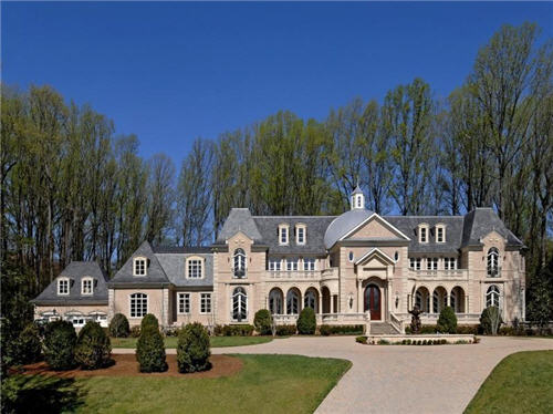$15 Million Baroque Chateau in McLean, Virginia