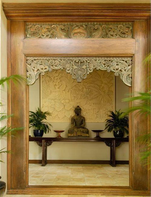 Custom Doorway