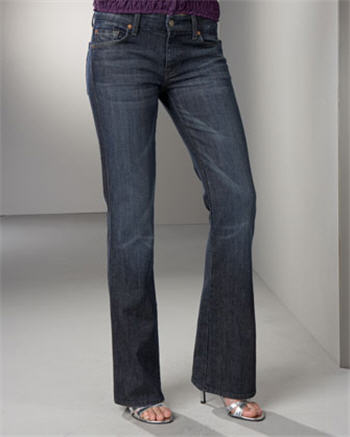 7 For All Mankind Flaming Crystal Jeans
