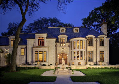 $8.4 Million Chateau in Lake Forest, Illinois