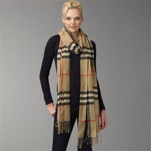 burberry cashmere ribbon muffler. Black Bedroom Furniture Sets. Home Design Ideas