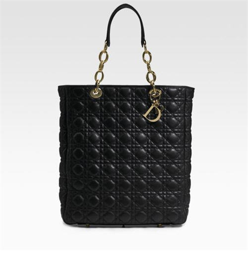Dior Quilted Leather Tote