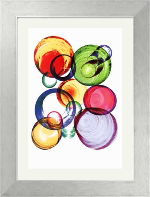 Glasses I by Nina Farrell with stainless steel frame