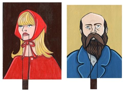 Talking Paintings by artist J. Richel