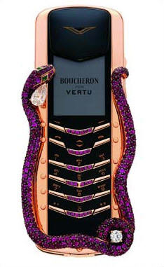 Vertu Signature Cobra Cell Phone
