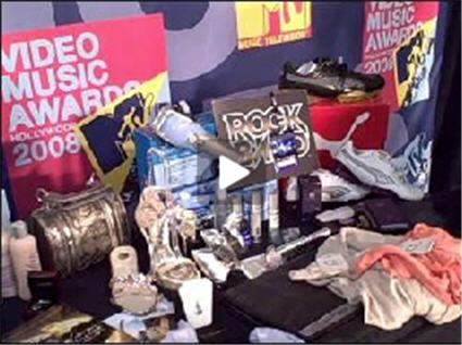 2008 MTV VMA Gift Bag
