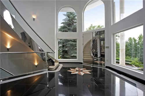 Mansion Foyer Email : Estate of the day million spectacular contemporary