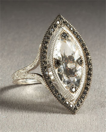 Marquis Topaz Ring