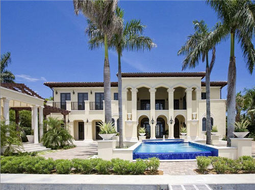 $19.9 Million Mediterranean Mansion in Miami Beach, Florida