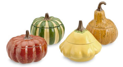 Autumn Harvest Individual Bowls