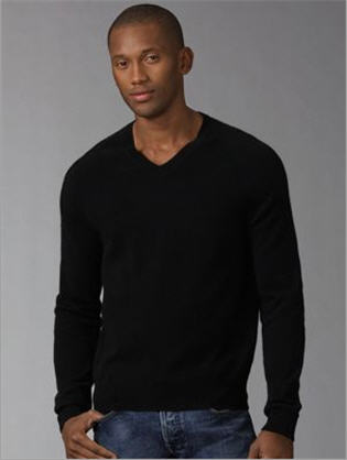 v-neck sweaters for men. Burberry Cashmere V-Neck