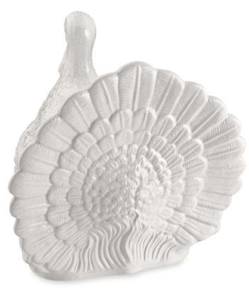 Ceramic Turkey Centerpiece