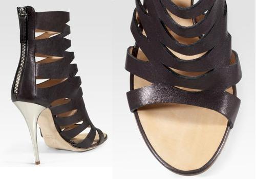 Giuseppe Zanotti Leather Cut-Out Boots