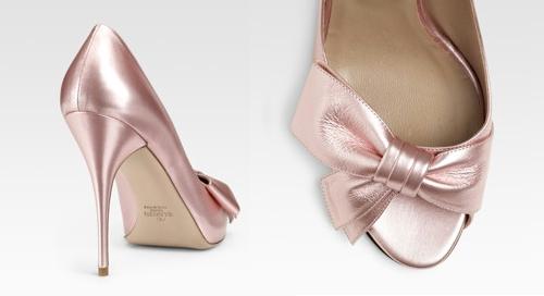 Valentino Classic Mena Peep-Toe Sandals