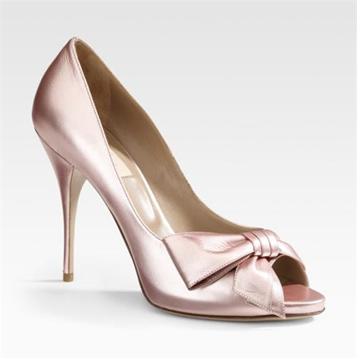 Valentino Classic Mena Peep-Toe Sandals from exoticexcess.com