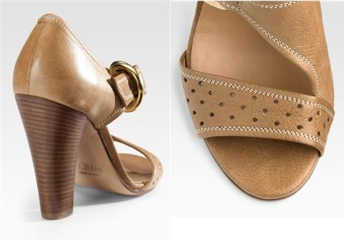 Chloé Bootie Sandals