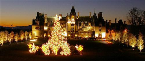 Christmas at Biltmore in Asheville, North Carolina