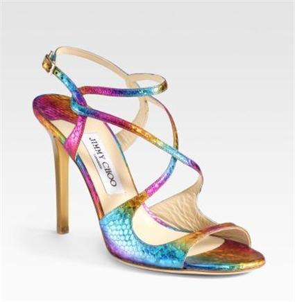 Jimmy Choo Open-Toe Sandals