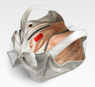 Valentino Small Pearlized Nuage Bag