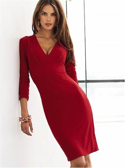 Victoria S Secret Flirty Little V Neck Dress