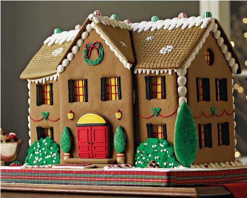 Williams-Sonoma Personalized Gingerbread Manor