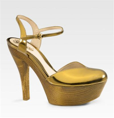Gucci Palmas Platform Sandals from exoticexcess.com