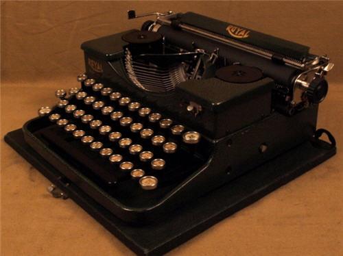 writer machine