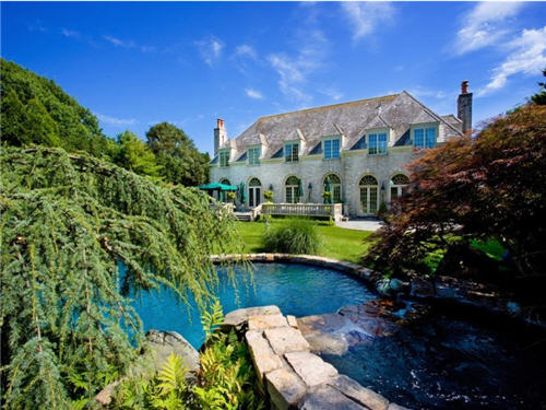 $13.5 Million Distinguished Normandy Style Home in Southampton, New York