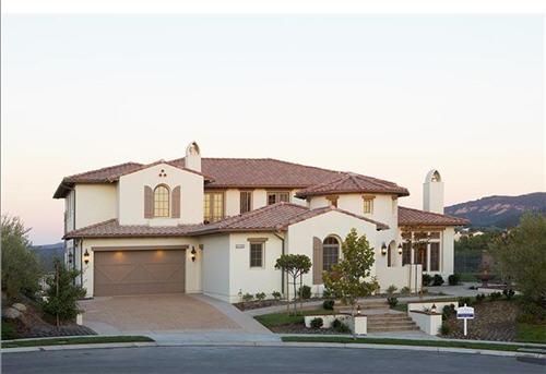 $4.1 Million Spanish Colonial Manor in Calabasas, California