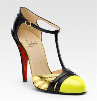 Christian Louboutin Gino T-Strap Sandals