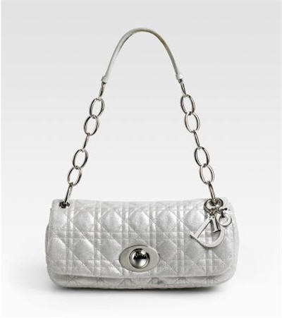 Dior Rendez-Vous Metallic Bag :  chic bags designer clothing metallic