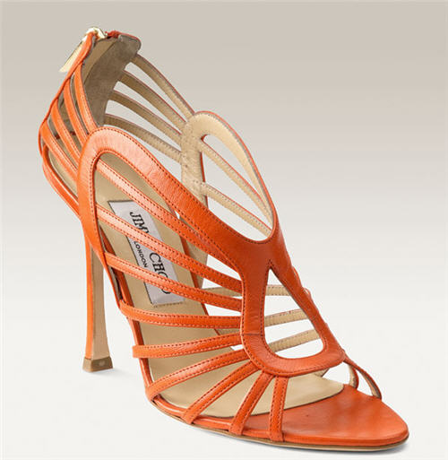 Jimmy Choo 'Samoa' Cage Sandal :  chic womens clothing womens designer clothing
