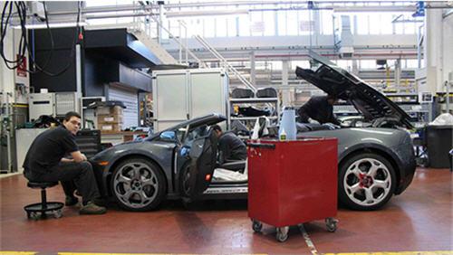 Lamborghini haulting production