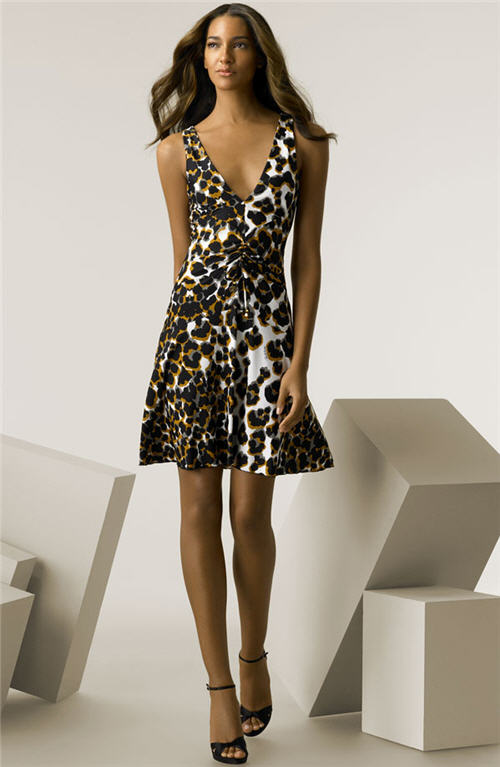 Roberto Cavalli Animal Print Jersey Dress :  fashion collection designer 09