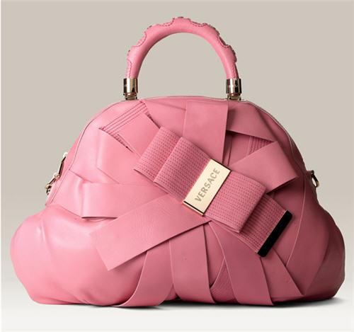 Versace 'Venita' Bow Satchel