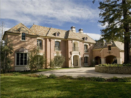 $10.5 Million French Mansion in Atherton, California