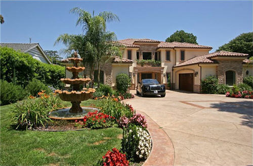 Estate of the day 4 5 million mediterranean villa in for Villas california