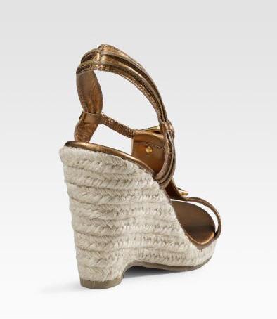 Diane von Furstenberg Harlot T-Strap Wedges