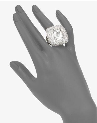 John Hardy White Topaz Ring