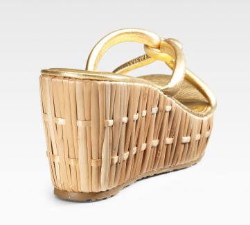 Kate Spade Bamboo Wedges