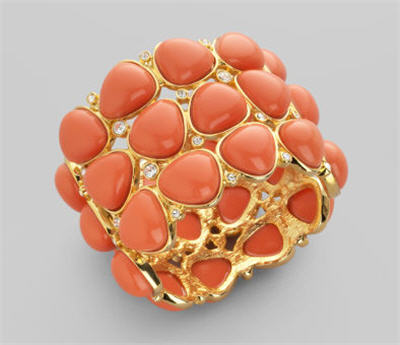 kenneth-jay-lane-coral-color-hinged-bracelet
