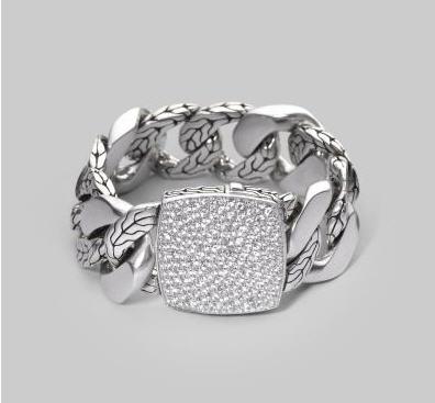 john-hardy-silver-and-white-topaz-bracelet