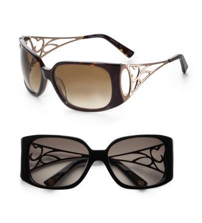 oscar-de-la-renta-lattice-temple-sunglasses