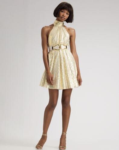 alice-olivia-metallic-turtleneck-dress